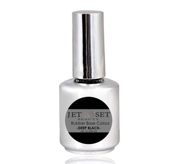 Rubber Base UV-Polish   DEEP BLACK