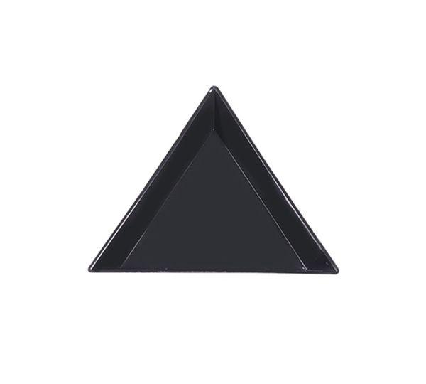 Strass Triangel Schale | BLACK