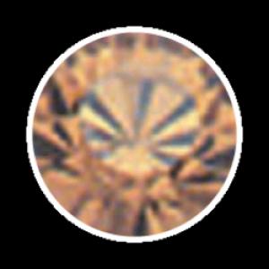 Swarovski Strass 100 Stück- mocca