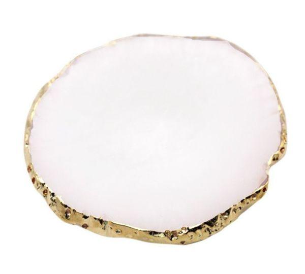 Natural Stone Plates   WHITE
