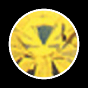 Swarovski Strass 100 Stück- gelb