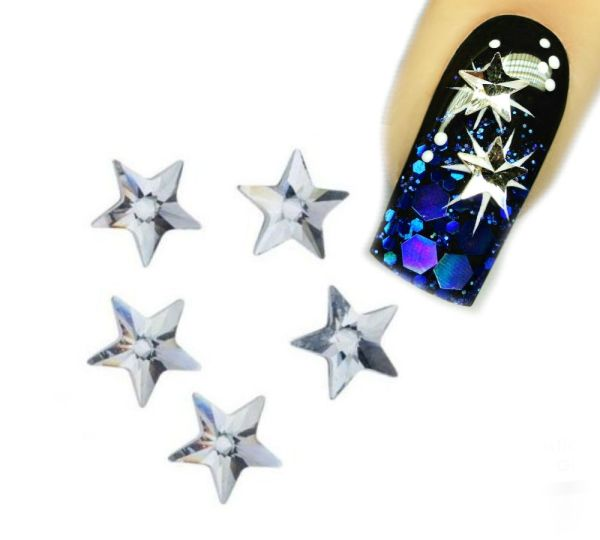 Swarovski Sterne Crystal 5x