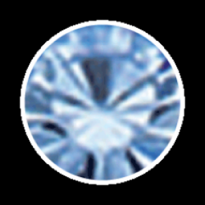 Swarovski Strass 100 Stück- hellblau