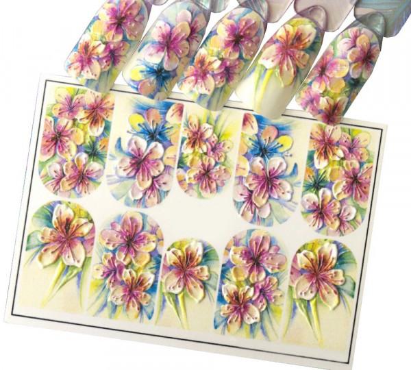 Nail Sticker | POWER FLOWER