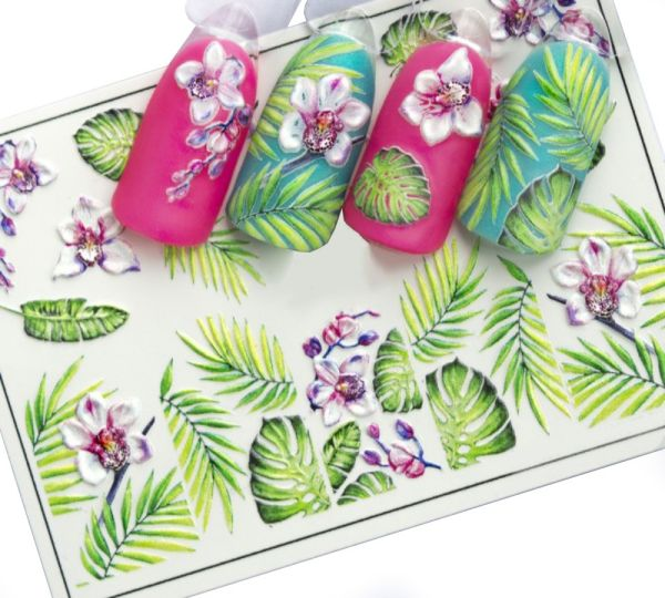 Nail Sticker   ORCHID