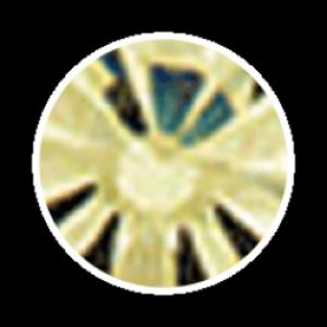 Swarovski Strass 100 Stück- gold