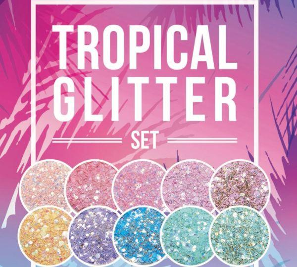 Tropical Glitter | SET