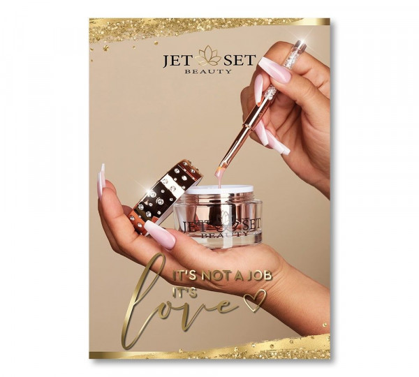 Jet Set Poster   IT`S LOVE SPECIAL EDITION