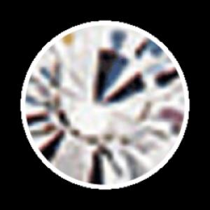 Swarovski Strass 100 Stück- silber