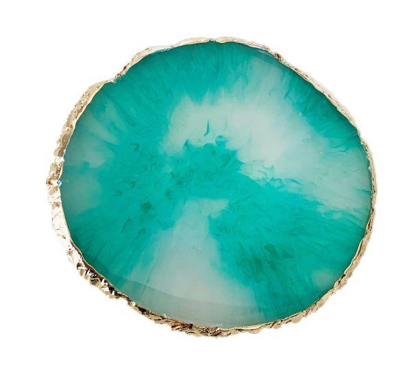 Natural Stone Plates   GREEN