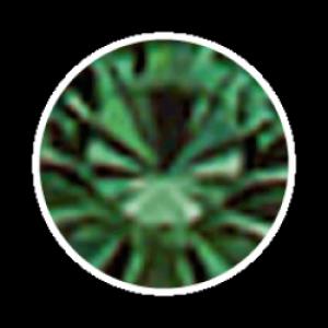 Swarovski Strass 100 Stück- dunkelgrün