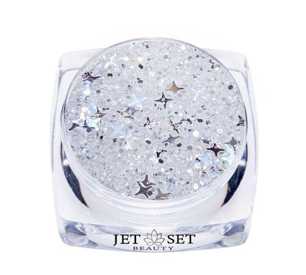 Winterstars Glitter   WHITE