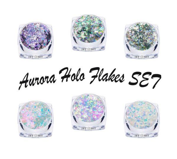 Aurora Holo Flakes -SET-